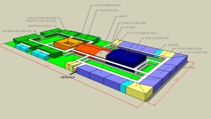 Cagliero High School Female Campus Master Plan - Iringa TZ